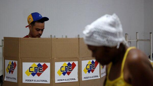 Votación en Venezuela (archivo) - Sputnik Mundo