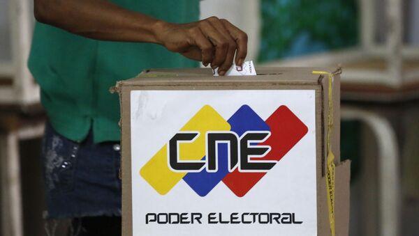 La votación en Venezuela (Archivo) - Sputnik Mundo