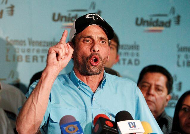 Henrique Capriles, opositor venezolano (archivo)