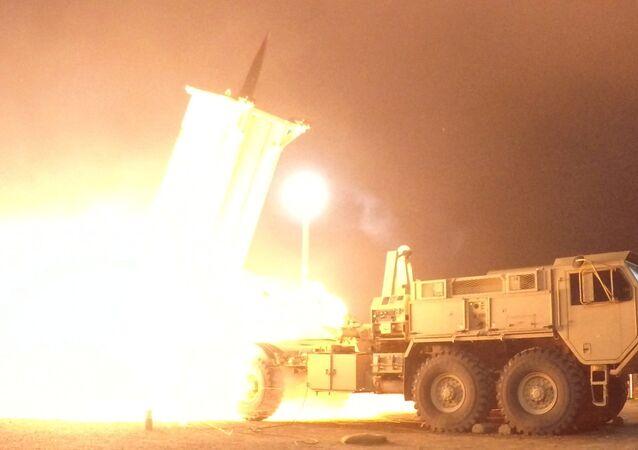 Prueba del sistema antimisiles estadounidense THAAD en Alaska