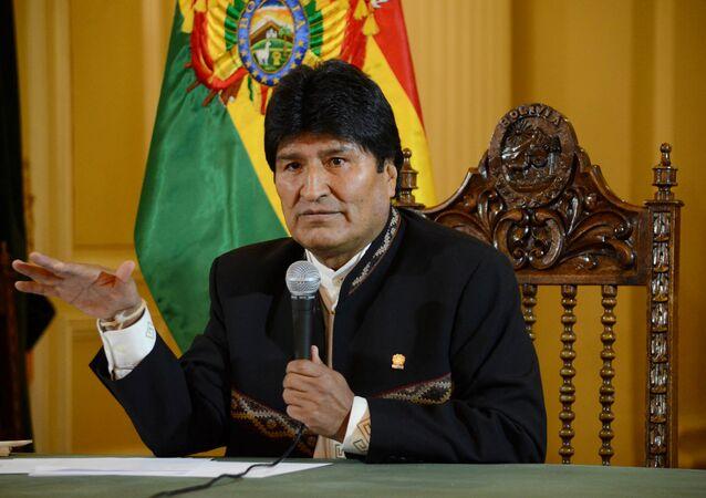 Evo Morales, presidente de Bolivia (archvo)