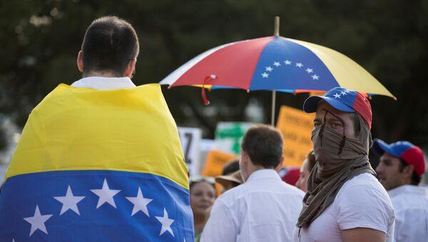 Las protestas en Venezuela - Sputnik Mundo