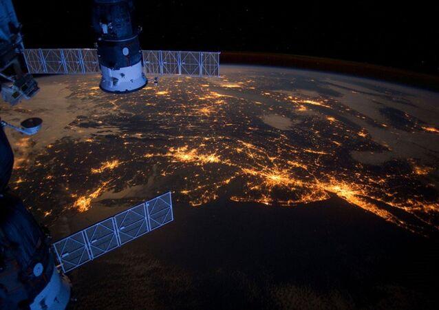 La Tierra vista desde la Estación Espacial Internacional