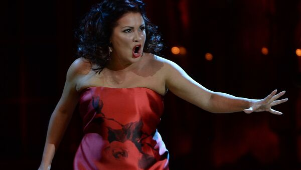 Ana Netrebko, cantante rusa - Sputnik Mundo