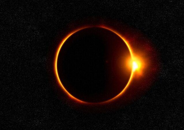 Eclipse solar (imagen referencial)