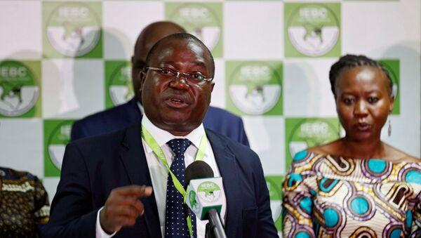 Chris Msando, el director de Tecnologías de la Información y la Comunicación de la Comisión Electoral Independiente de Kenia - Sputnik Mundo
