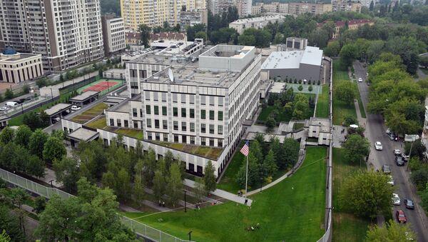 La embajada de EEUU en Ucrania - Sputnik Mundo