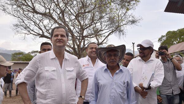 Sergio Jaramillo, alto comisionado para la Paz del Gobierno de Colombia (archivo) - Sputnik Mundo