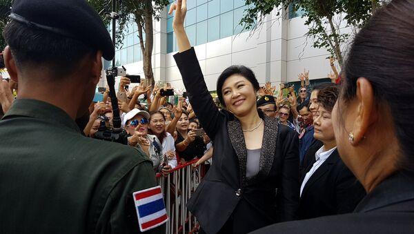 Yingluck Shinawatra, ex primera ministra de Tailandia - Sputnik Mundo