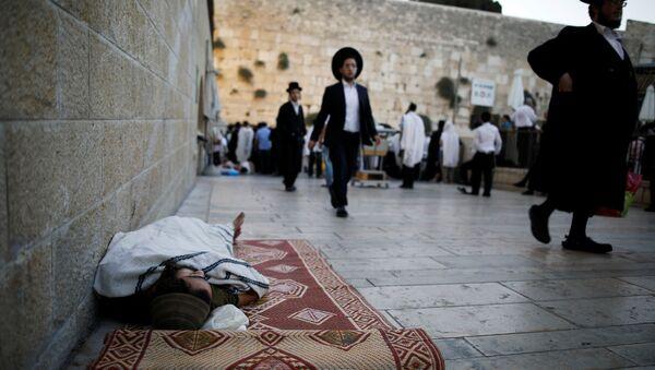 Los judíos en la Explanada de las Mezquitas en Jerusalén - Sputnik Mundo