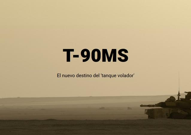 T-90MS, el nuevo destino del 'tanque volador'