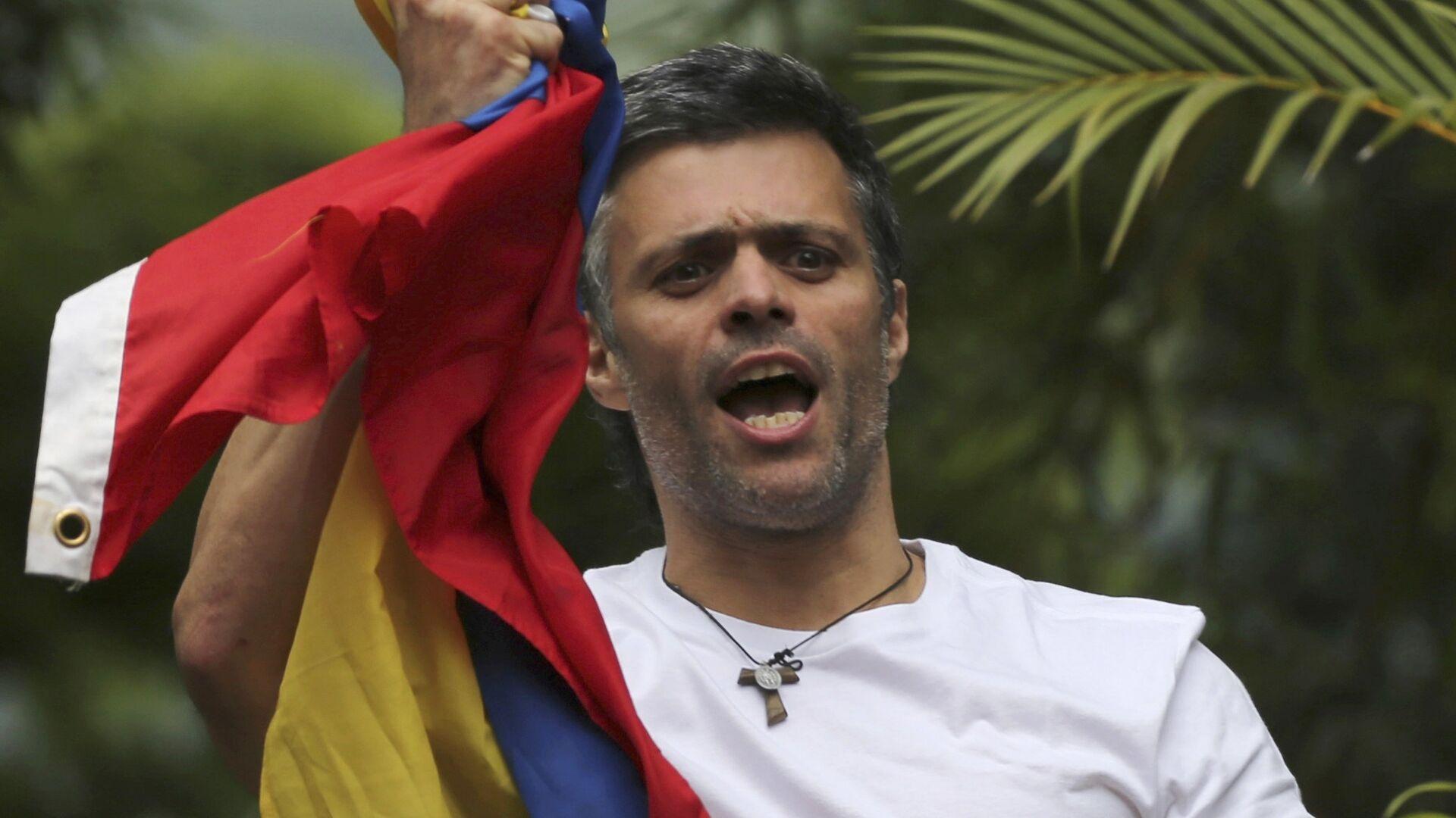 Leopoldo López, opositor venezolano - Sputnik Mundo, 1920, 14.07.2021