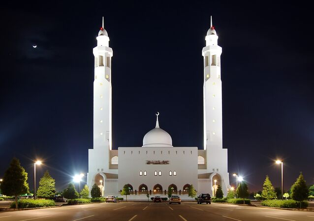 Mezquita en Omán
