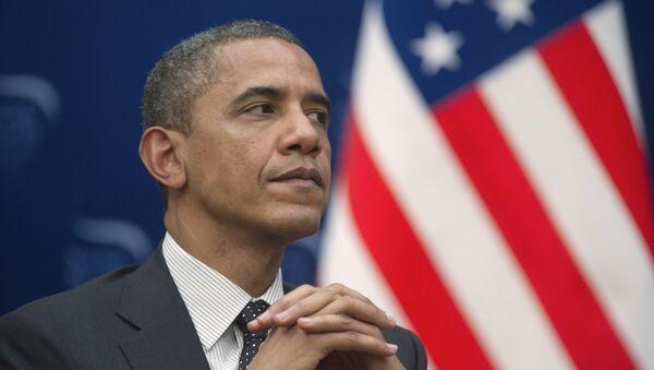 Президент США Барак Обама - Sputnik Mundo