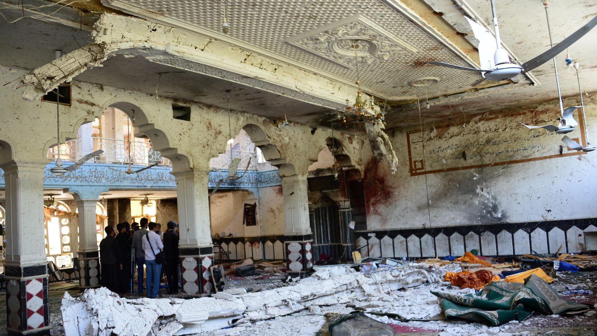 Ataque en la mezquita chií en la ciudad de Herat, Afganistán - Sputnik Mundo, 1920, 14.05.2021