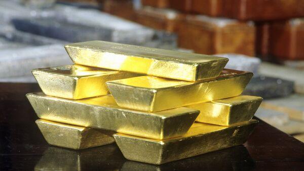 Gold ingots - Sputnik Mundo