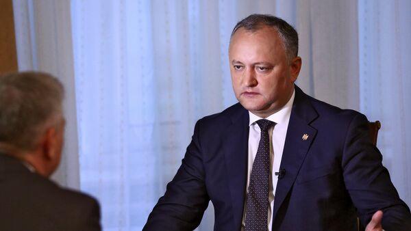Ígor Dodon, presidente de Moldavia - Sputnik Mundo