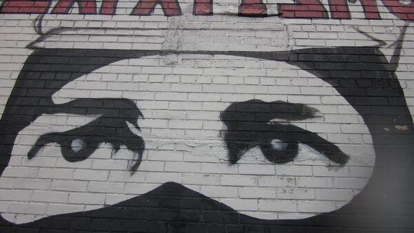 Mural con dibujo zapatista - Sputnik Mundo