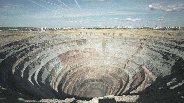 Mina de diamantes, imagen referencial - Sputnik Mundo
