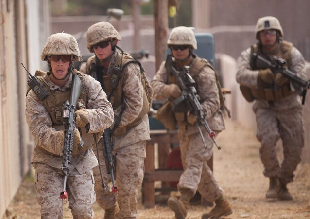 Los militares de EEUU en Afganistán (archivo)