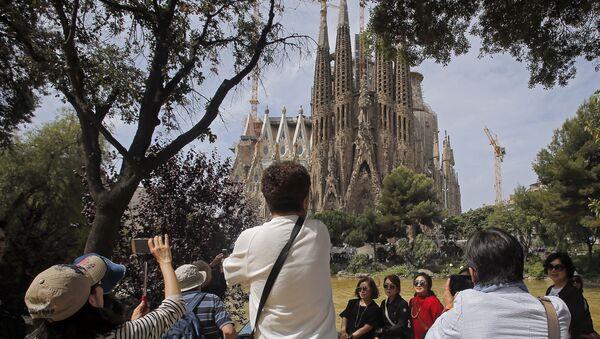 Turistas en España (archivo) - Sputnik Mundo