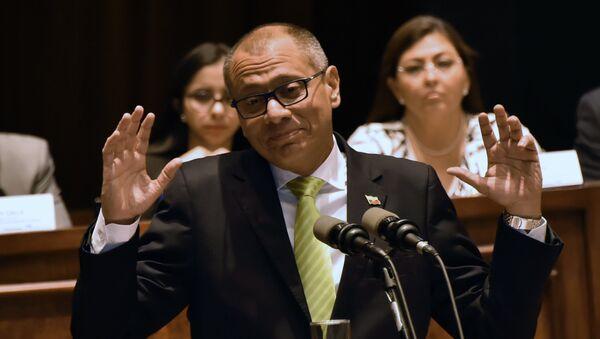 Jorge Glas, exvicepresidente de Ecuador - Sputnik Mundo
