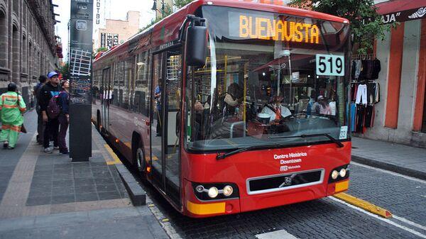 Metrobús en Ciudad de México. - Sputnik Mundo