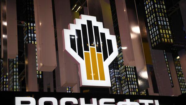 Logo de Rosneft - Sputnik Mundo