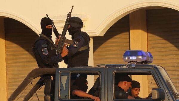Policías de Egipto (archivo) - Sputnik Mundo