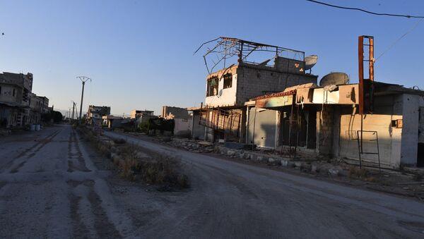 La situación de Guta Oriental en Siria - Sputnik Mundo