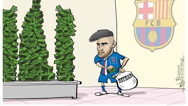 Neymar, el jugador más caro del mundo - Sputnik Mundo