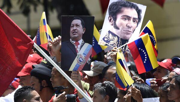 Caminata hacia la sede del Poder Legislativo en Venezuela - Sputnik Mundo