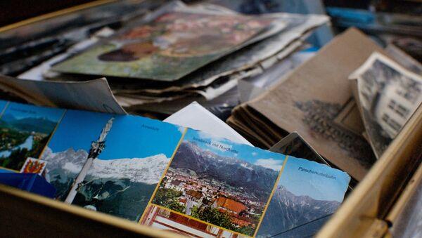 Tarjetas postales (imagen referencial) - Sputnik Mundo