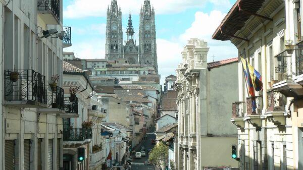 Casco histórico de Quito, capital de Ecuador - Sputnik Mundo