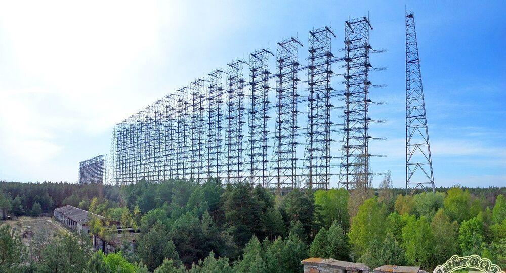 Radar 'Duga', Pripiát, Ucrania