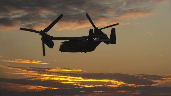 US Marine Corps Bell Boeing MV-22 Osprey - Sputnik Mundo