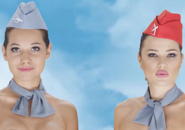Escena del controversial vídeo de publicidad de Chocotravel