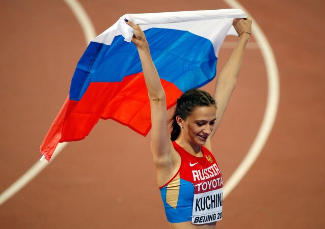 Uns atleta rusa