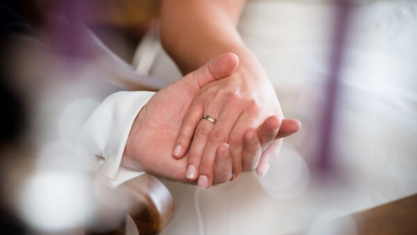 Imagen referencial de una boda - Sputnik Mundo