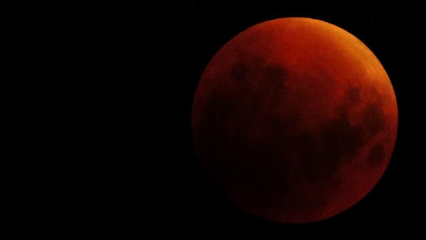 La Luna roja (ilustración) - Sputnik Mundo