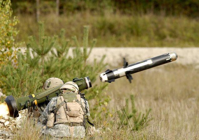 Sistema de misiles antitanque Javelin (archivo)