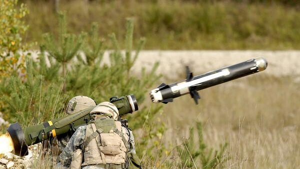 Missile antitanque FGM-148 Javelin - Sputnik Mundo