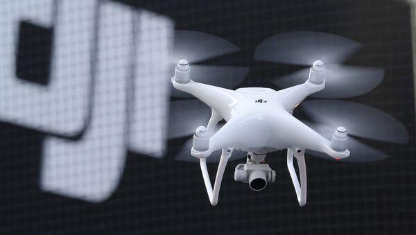 Un dron fabricado por la empresa DJI - Sputnik Mundo