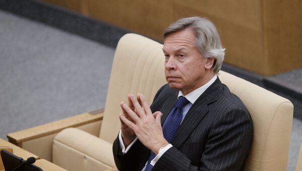 Alexéi Pushkov, senador ruso - Sputnik Mundo