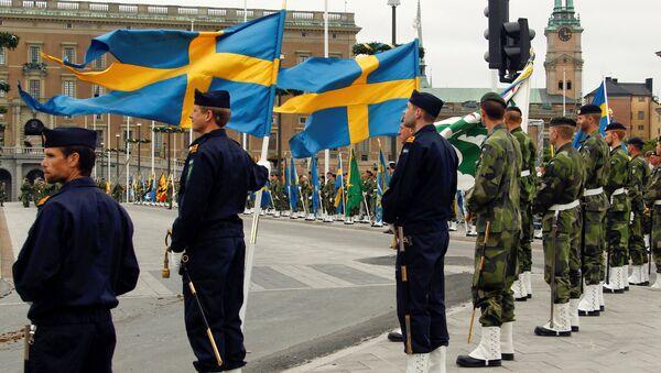 Soldados de Suecia (archivo) - Sputnik Mundo
