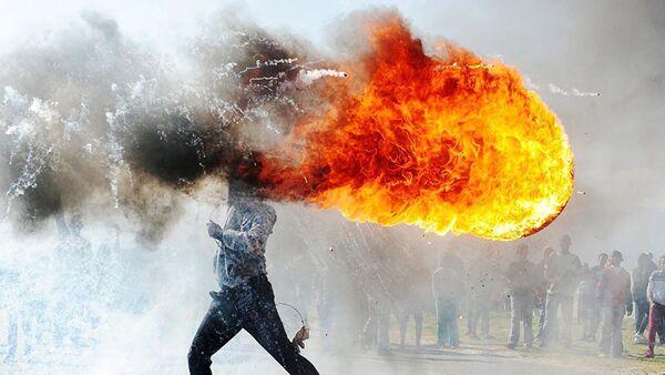 Protestas en Grabouw, del reportero gráfico Phandulwazi Jikelo (Sudáfrica) - Sputnik Mundo