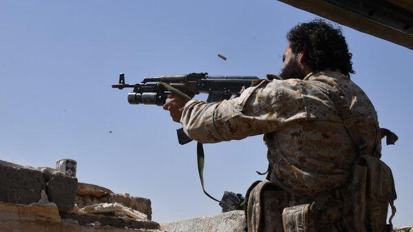 Combatientes de la Guardia Republicana Siria en Deir Ezzor (archivo) - Sputnik Mundo