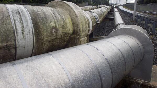 Una tubería de gas licuado, en EEUU (archivo) - Sputnik Mundo