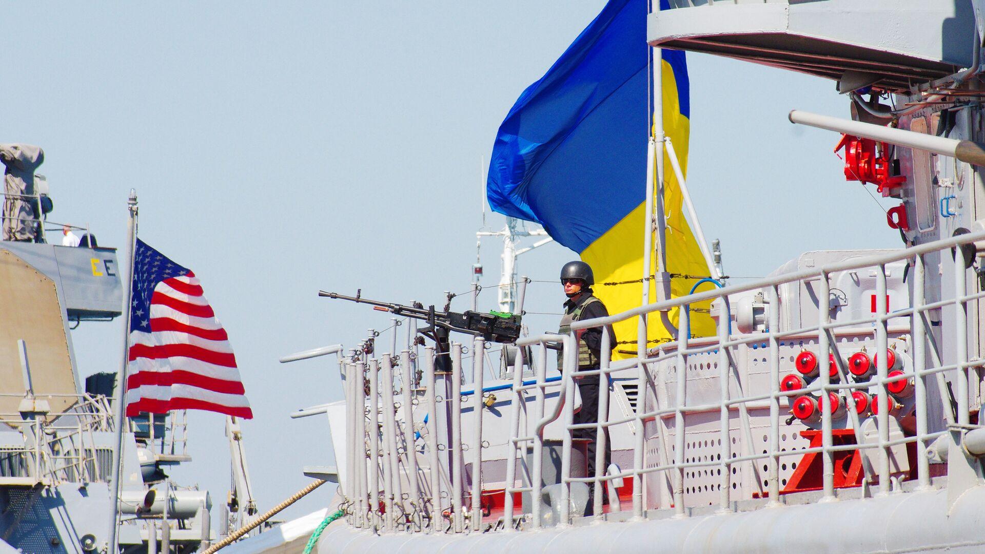 Las maniobras conjuntas entre Ucrania y EEUU, Sea Breeze 2015 (archivo) - Sputnik Mundo, 1920, 22.06.2021