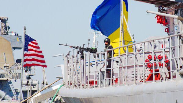 Las maniobras conjuntas entre Ucrania y EEUU, Sea Breeze 2015 (archivo) - Sputnik Mundo